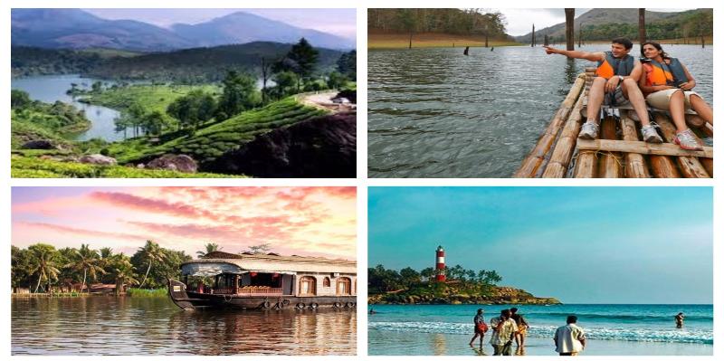 Kerala - Honeymoon Destinations in India